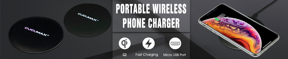 Portable Wireless Phone Charger